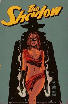 The Shadow by Francesco Francavilla. From Two-Fisted Pulp