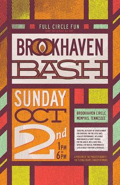 Brookhaven Bash | poster by killingclipart