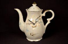 Japanese Ceramic Teapot Mid Century Dragonware Dragon