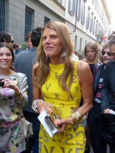 Anna Dello Russo in Milan - http://olschis-world.de/  #AnnaDelloRusso #Streetstyle #Fashion