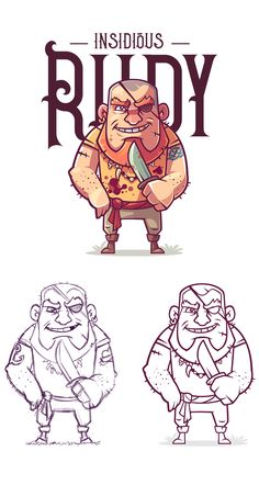 Flithy Pirates on Behance 2d Character, Character Drawing, Character Design, Chibi Characters, Office Wall Art, Cartoon Drawings, Game Design, Game Art, Character Inspiration