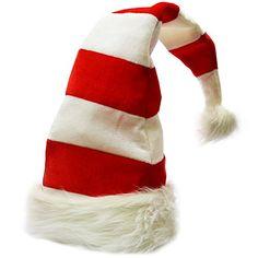 66ba313f743  8.79 Christmas Hats - Candy Holiday Theme Hats - Santa Hats - ... https