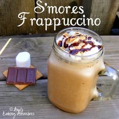 OMG - Has #Starbucks heard about this S'mores Frappucino!?!! #NationalSmoresDay #Smores #desserts