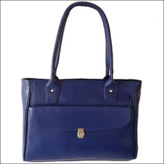 Genuine-#Leather-Handbag-Purse-Tote-Bag-Shopper-#Blue-Women-039-s-#Fashion
