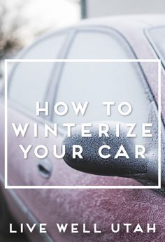Winter is on its way. Follow these steps to winterize your vehicle and ensure that you are ready for whatever this winter may bring.