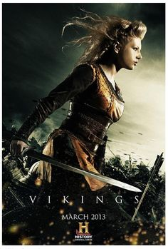Vikings Poster of Lagertha