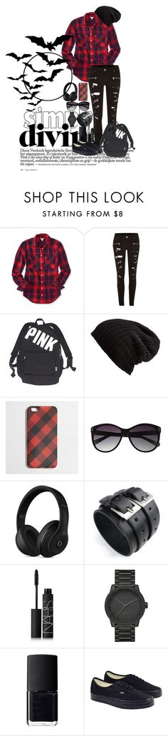 """""""Plad"""" by katiecutie31 on Polyvore featuring Aéropostale, River Island, Victoria's Secret, Free People, J.Crew, Vince Camuto, Beats by Dr. Dre, NARS Cosmetics, LEFF Amsterdam and Vans"""
