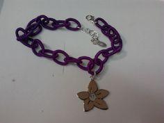 bracciale bimbomio Candies con violetta