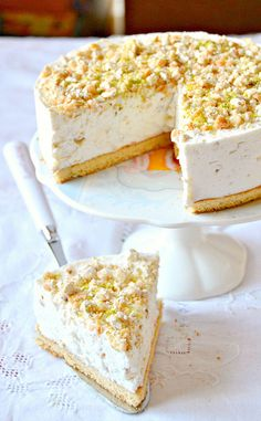 White Chocolate Cake.