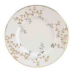 Vera Wang for Wedgwood - Gilded Leaf Collection, Accent Plate
