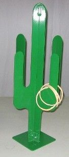 Cactus Toss. 15x15x30 tall. Includes12 wooden rings. $249.00 at Best Carnival Games, 5/27/15.