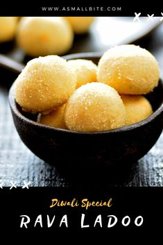 Rava Ladoo Recipe / Rava Urundai Recipe is simple Diwali Recipe to make with minimal ingredients and stays good for 15 to 20 days. Rava Laddu Recipe, Laddoo Recipe, Appam Recipe, Navratri Recipes, Gujarati Recipes, Easy Dinner Recipes, Snack Recipes, Cooking Recipes, Other Recipes