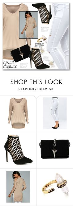 """Street Style"" by jecakns ❤ liked on Polyvore featuring Cesare Paciotti"