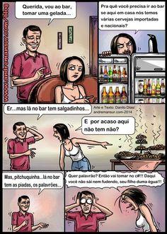 Nunca troque a sua mulher pelo bar no bar  mais gostoso... rs