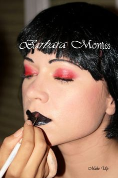 Mis inicios como Maquilladora en Valencia en el año 2007. Maquillaje de fantasía