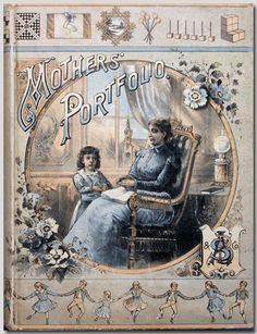 Mother's Portfolio. Norman Brosterman kindergarten collection.