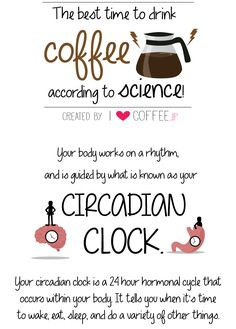 The best time to drink coffee according to science - I Love Coffee