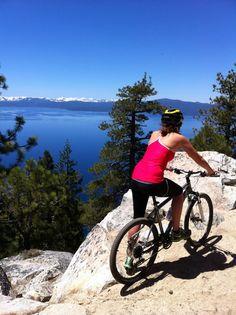 Mountain Biking the Flume Trail