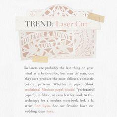 trend | laser cut details
