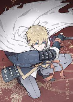 Pixiv Id 7059987 - Zerochan Anime Image Board Touken Ranbu, Katana, Samurai, Aldnoah Zero, Gato Anime, Character Design, Character Art, Handsome Anime Guys, High Fantasy