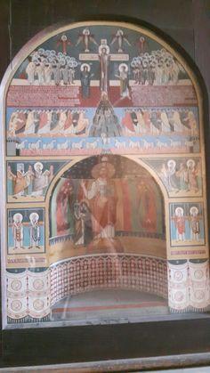 Santa Maria Antiqua.  Ricostruzione dell'Abside