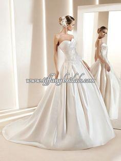 La Sposa Wedding Dresses - Style Dilan La Sposa Wedding Dresses, Wedding Dress Styles, One Shoulder Wedding Dress, Ball Gowns, Fashion Dresses, Formal Dresses, Ballroom Gowns, Fashion Show Dresses, Dresses For Formal