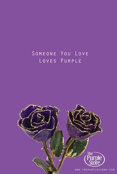Someone You Love, Loves Purple « The Purple Store's Purple Blog