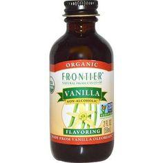 Frontier Herb Vanilla Extract 16 oz