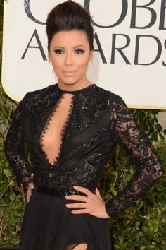 Best boob window dresses of the golden globes. Who's your vote? #fashion #EvaLongoria