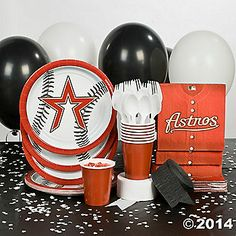 Houston astros large basket a 9 items houston astros at designs personalized baby gifts see more oriental trading mlb houston astros party supplies negle Gallery