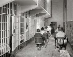 Women in jail attend