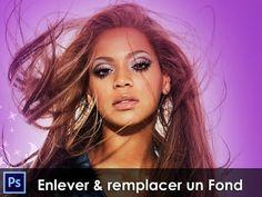 Formation Photoshop CS5 & CS6 - Detourage Express Enlever & Remplacer un Fond - YouTube