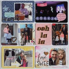 Designer @mpcapistran is up on the blog with a gorgeous Project Life spread using #february2016 kits  @kjstarre journaling cards @heidiswapp @americancrafts @amytangerine @dearlizzy @pinkpaislee #hipkits #hipkitclub #projectlife