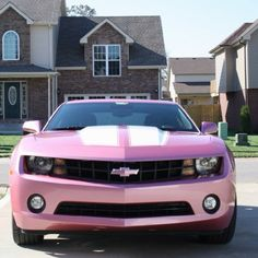 I want this pink car!!!