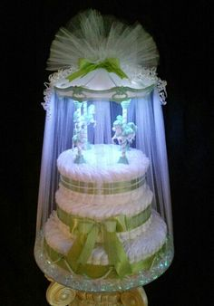 Diy Diaper Cake, Nappy Cakes, Diaper Shower, Baby Shower Diapers, Star Baby Showers, Baby Shower Parties, Cake Pillars, Princess Diaper Cakes, Pamper Cake