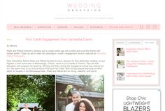 Samantha Clarke Photography featured on Wedding Obssession!