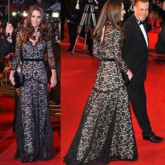 Fabulous Princess Chic Long Sleeves Ball Formal Gown Black Lace Evening Dress | eBay