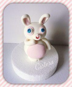 #caketopper #gistera #cakedesign #bunny