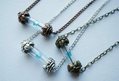 Tesseract Necklace -- The Avengers Inspired - LOKI - Unlimited Power - Swarovski Crystal -- Avengers
