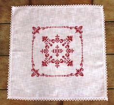 Weihkorbdecken Counting Pattern - Christmas Basket - Themes Source by ingridzollner Christmas Baskets, Easter Cross, Counting, Embroidery, Rugs, Pattern, How To Make, Dots, Crafts
