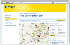 Get Active with Aviva, created by INK