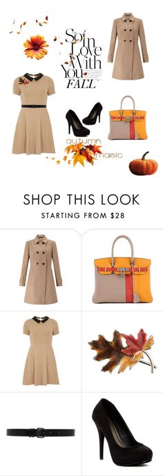 """""""Fall Fashion"""" by miss-glass-rose ❤ liked on Polyvore featuring Miss Selfridge, Hermès, mel, Anne Klein, Ann Demeulemeester and Michael Antonio"""