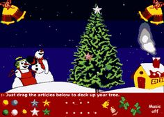 Christmas Treats vocabulary words, interactive word magnet game ...
