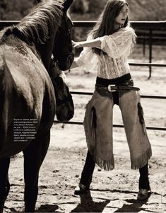 Valentina Zelyaeva & Andreea Diaconu by David Burton for Elle Russia May 2011 7