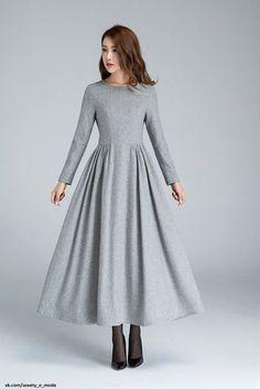 Look! Теплые образы с платьем или юбкой! 1