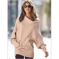 Victoria's Secret Oversized Cowlneck Sweatshirt