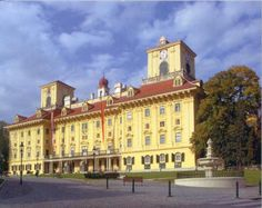 Esterhazy Palace, Eisenstadt, Austria <3 I performed in this palace during the Joseph Hayden Music Festival as a Soprano. <3
