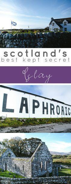 #Scotland is a beautiful country to travel. #Islay is Scotland's best kept travel secret! #travel #vacation #bucketlist #island