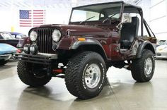 1975 Jeep CJ5 | Friend of mine is rebuilding one of these, not this one obviously, but might make a board for his build