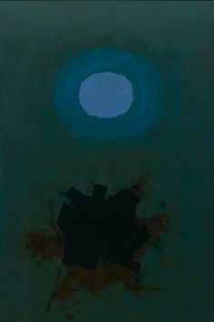 "nobrashfestivity: "" Adolph Gottlieb, Orb, 1964. Oil on canvas """